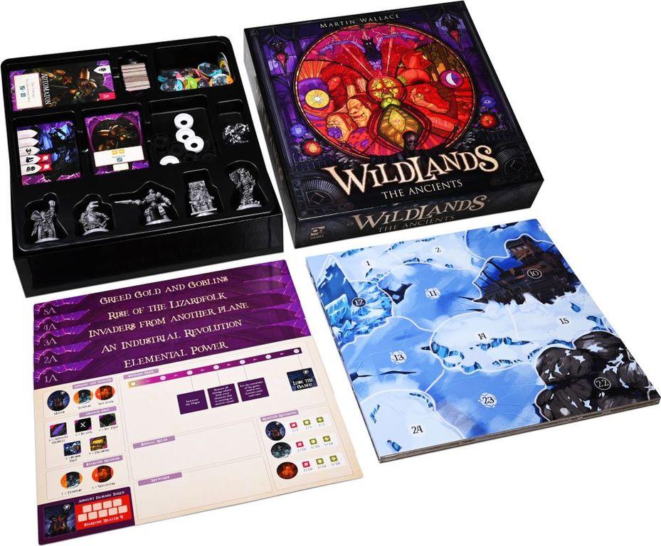 Wildlands: The Ancients components