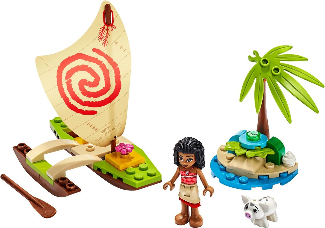 Moana's Ocean Adventure components