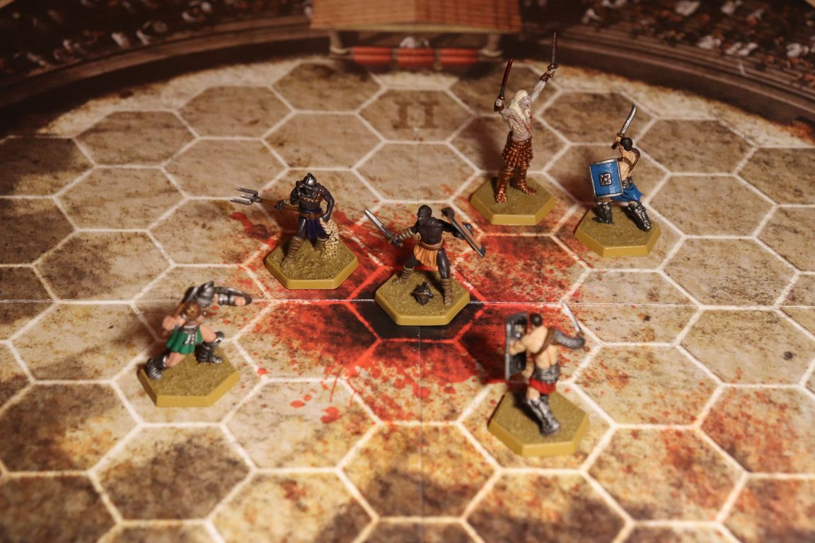 Spartacus: A Game of Blood & Treachery miniatures
