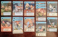 Root: The Exiles and Partisans Deck cards