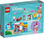 LEGO® Disney Ariel's Seaside Castle back of the box