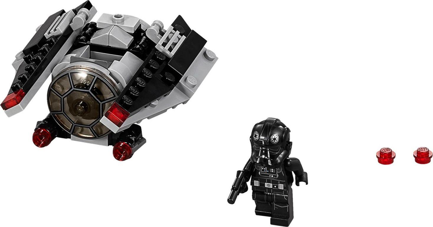 LEGO® Star Wars TIE Striker™ Microfighter components