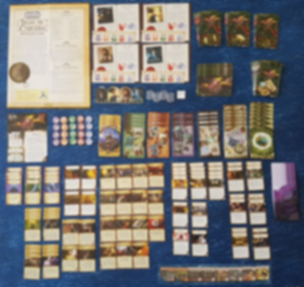 Eldritch Horror: Signs of Carcosa components