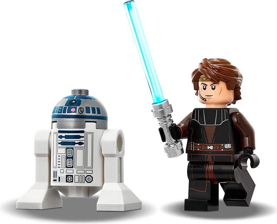 LEGO® Star Wars Anakin's Jedi Starfighter™ minifigures