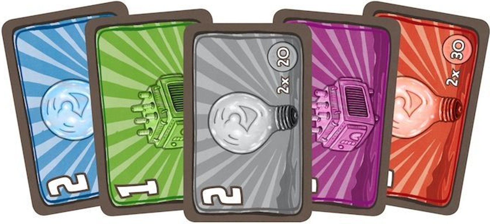 Power Grid: The Stock Companies cards