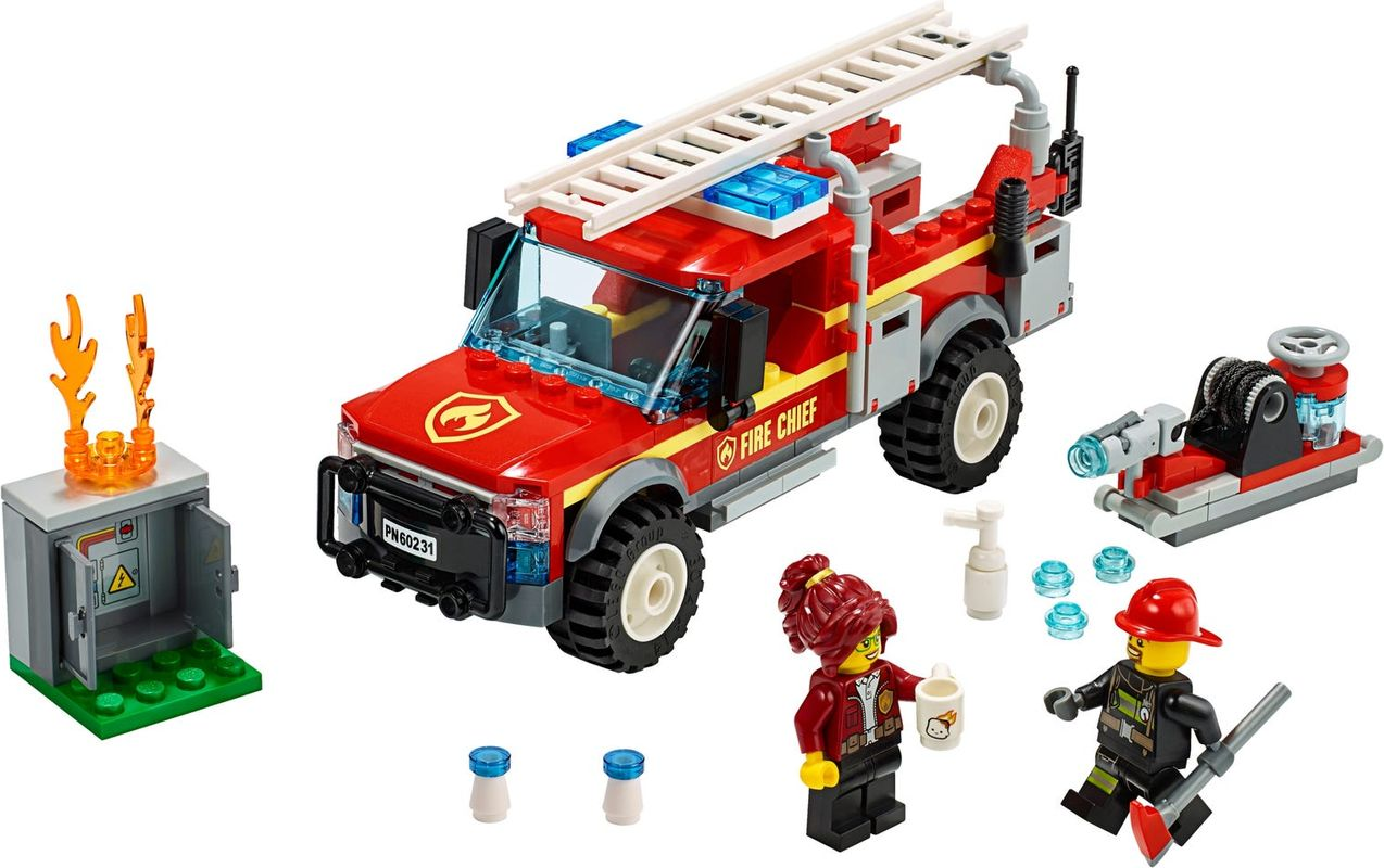 Fire Chief Response Truck components