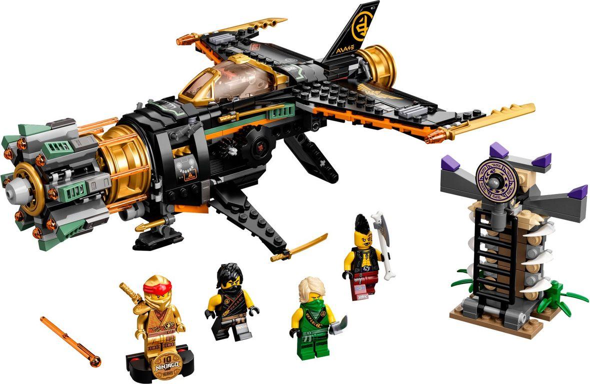 LEGO® Ninjago Boulder Blaster components