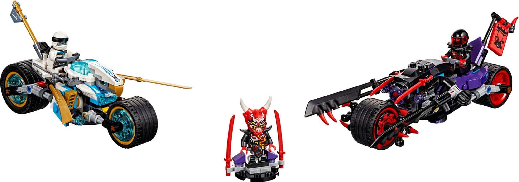 LEGO® Ninjago Street Race of Snake Jaguar components
