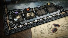 Brass: Lancashire game board