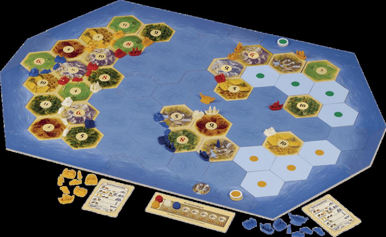 Catan: Explorers & Pirates gameplay