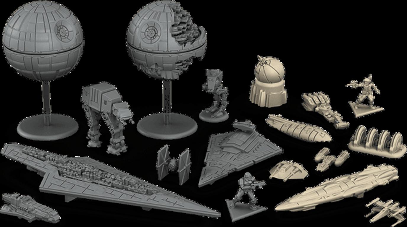 Star Wars: Rebellion miniatures