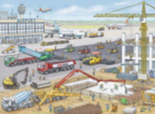 Construction at The Airport