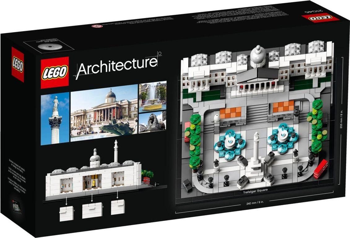 LEGO® Architecture LEGO 21045 Trafalger Square back of the box