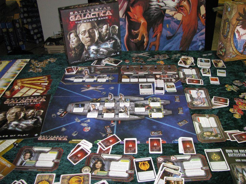 Battlestar Galactica components