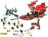 LEGO® Ninjago Final Flight of Destiny's Bounty components