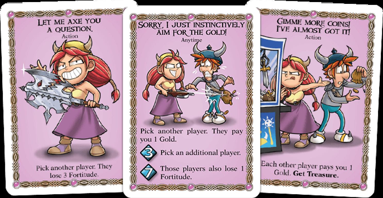 Red Dragon Inn: Allies - Spyke & Flower cards