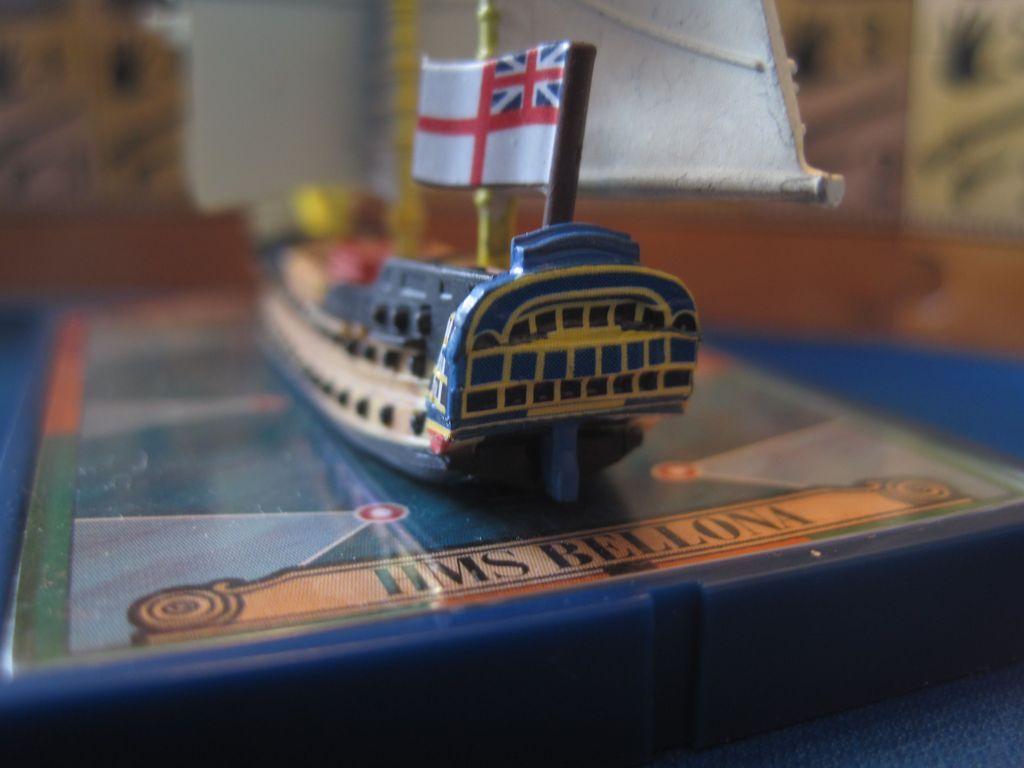 Sails of Glory Ship Pack: HMS Bellona 1760 / HMS Goliath 1781 miniature