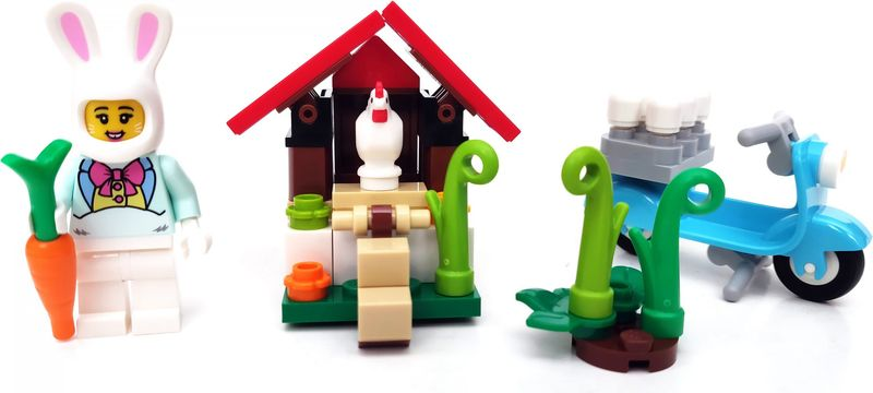 Easter Bunny House components