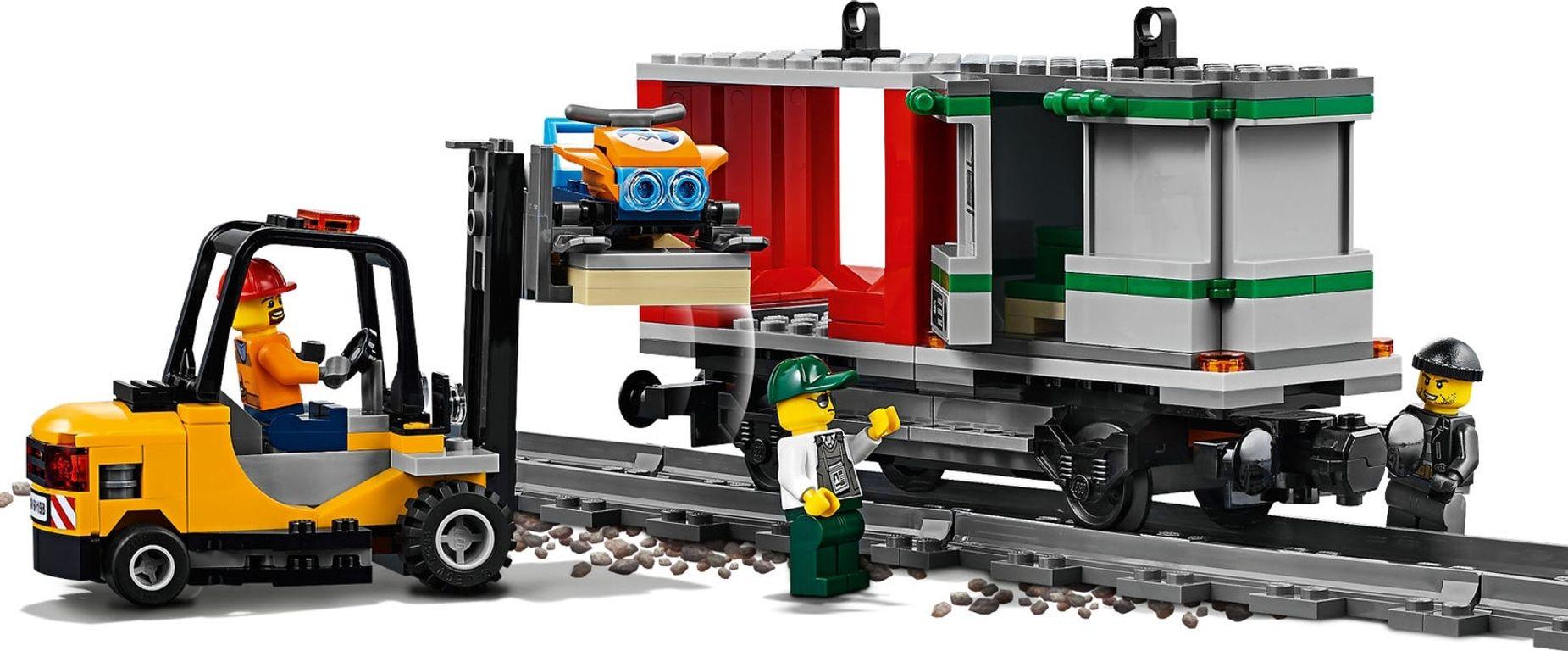 LEGO® City Cargo Train gameplay