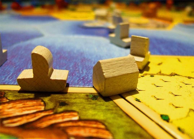 Catan: Seafarers components