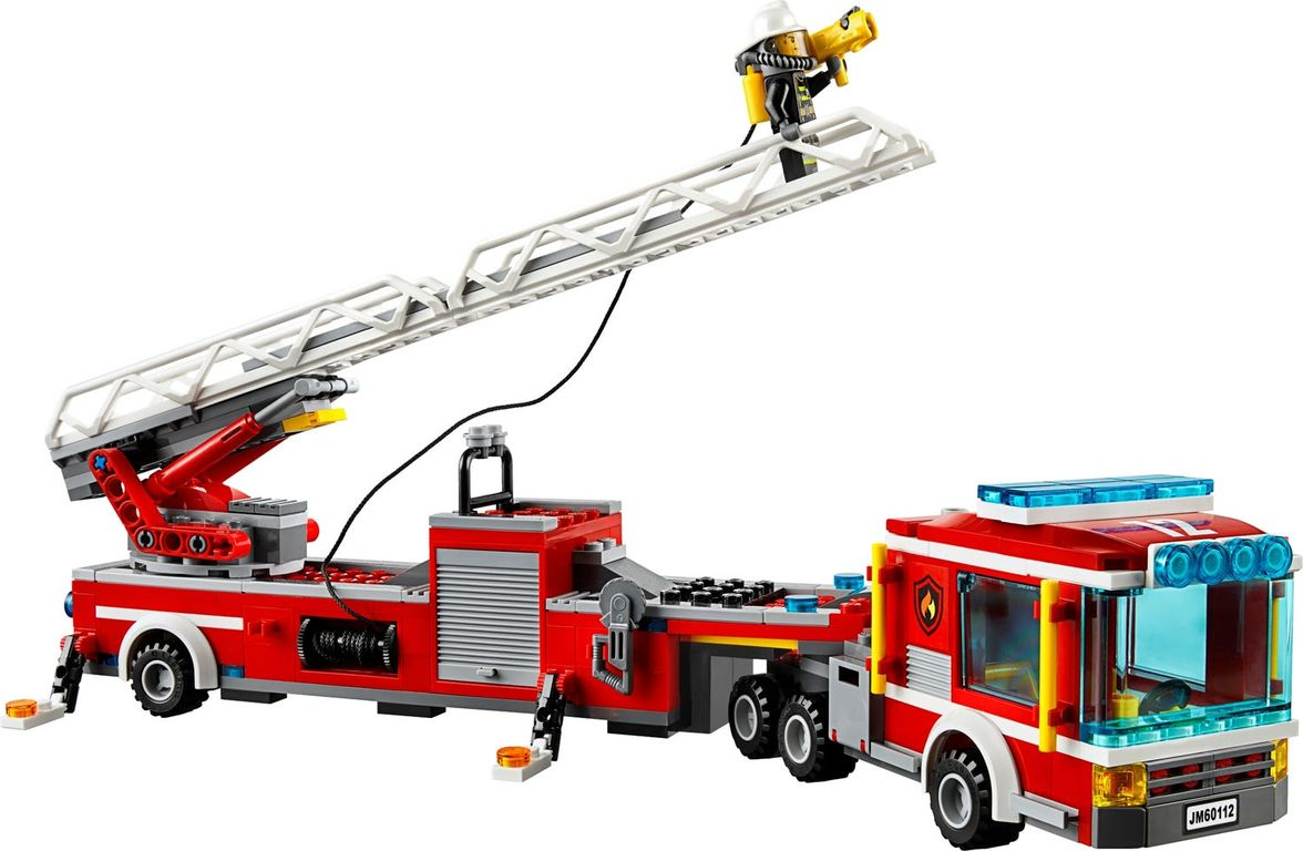 LEGO® City Fire Engine components
