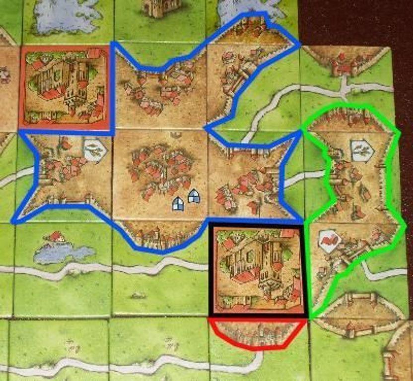 Carcassonne: Abbey & Mayor gameplay
