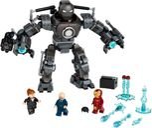 LEGO® Marvel Iron Man: Iron Monger Mayhem components