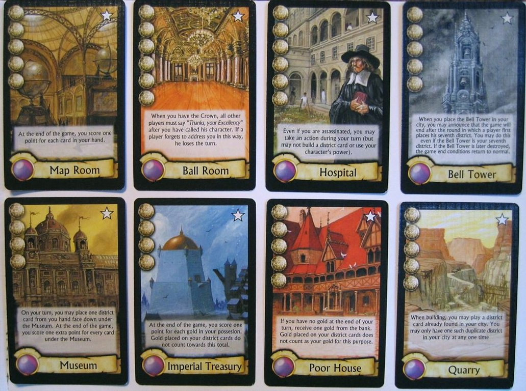 Citadels: The Dark City cards
