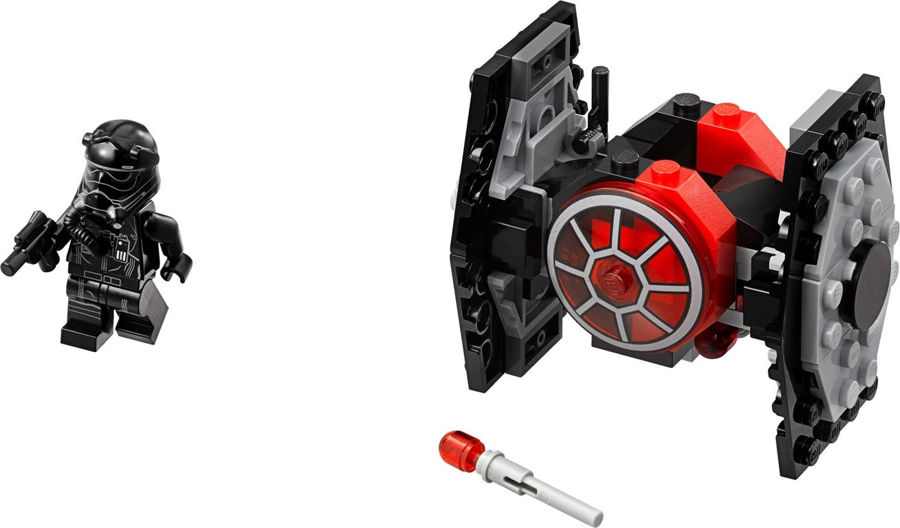 LEGO® Star Wars First Order TIE Fighter™ Microfighter components