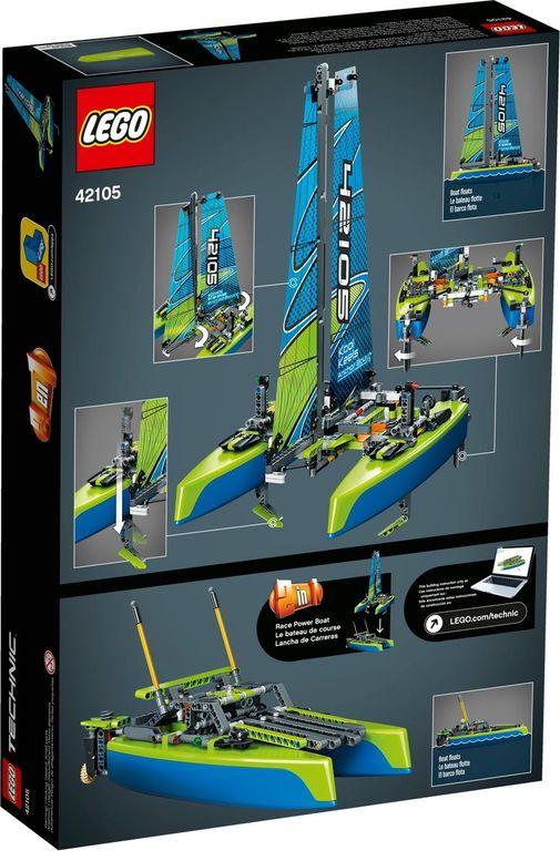 LEGO® Technic Catamaran back of the box