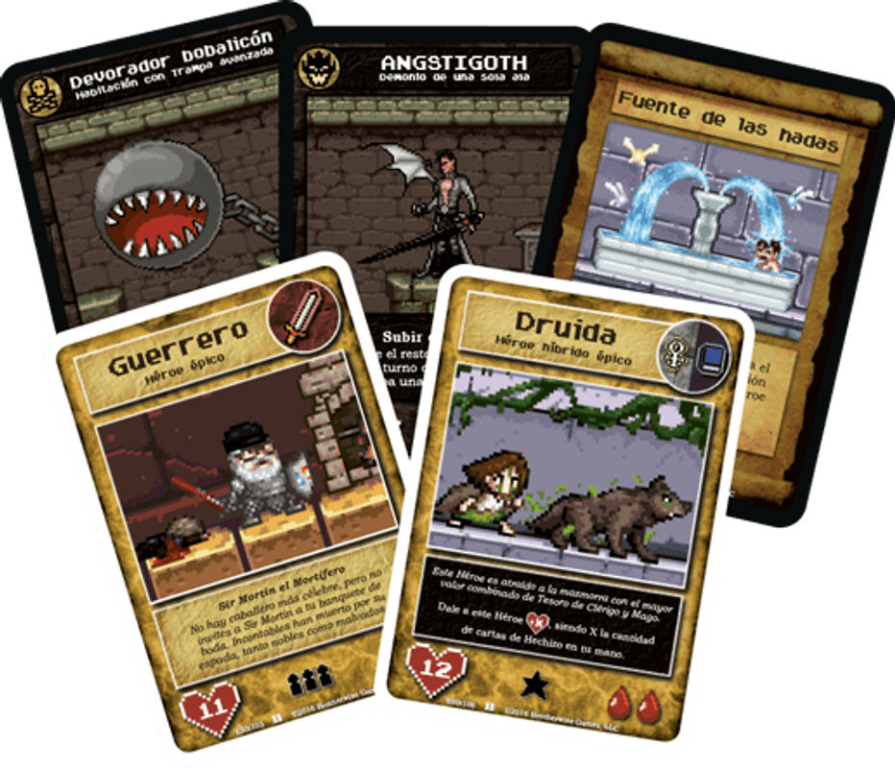 Boss Monster 2: The Next Level cards