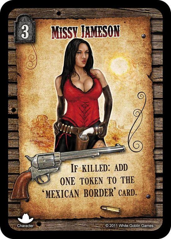 Revolver Missy Jameson card