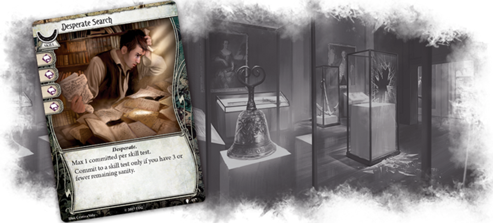 Arkham Horror: The Card Game – Echoes of the Past: Mythos Pack cards