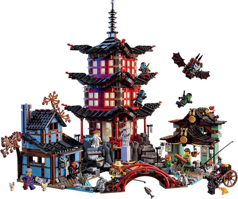 Temple of Airjitzu gameplay