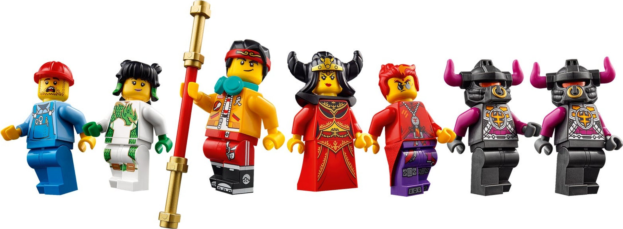 The Flaming Foundry minifigures