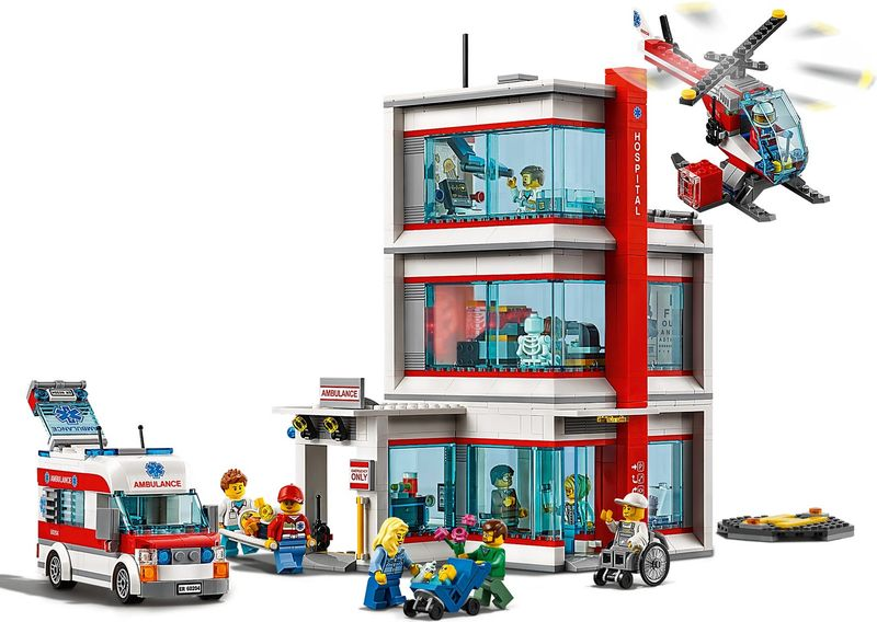 LEGO® City Hospital gameplay