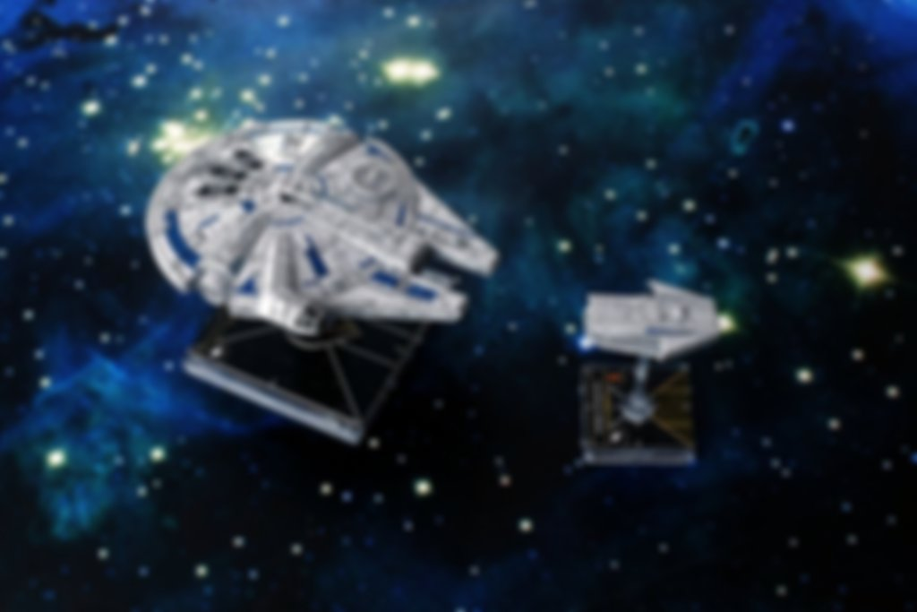 Star Wars: X-Wing (Second Edition) - Lando's Millennium Falcon Expansion Pack gameplay