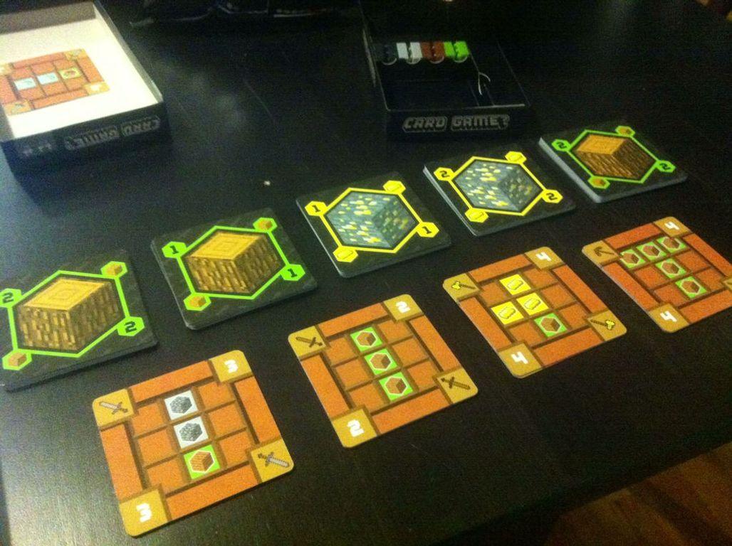 Minecraft Card Game? gameplay
