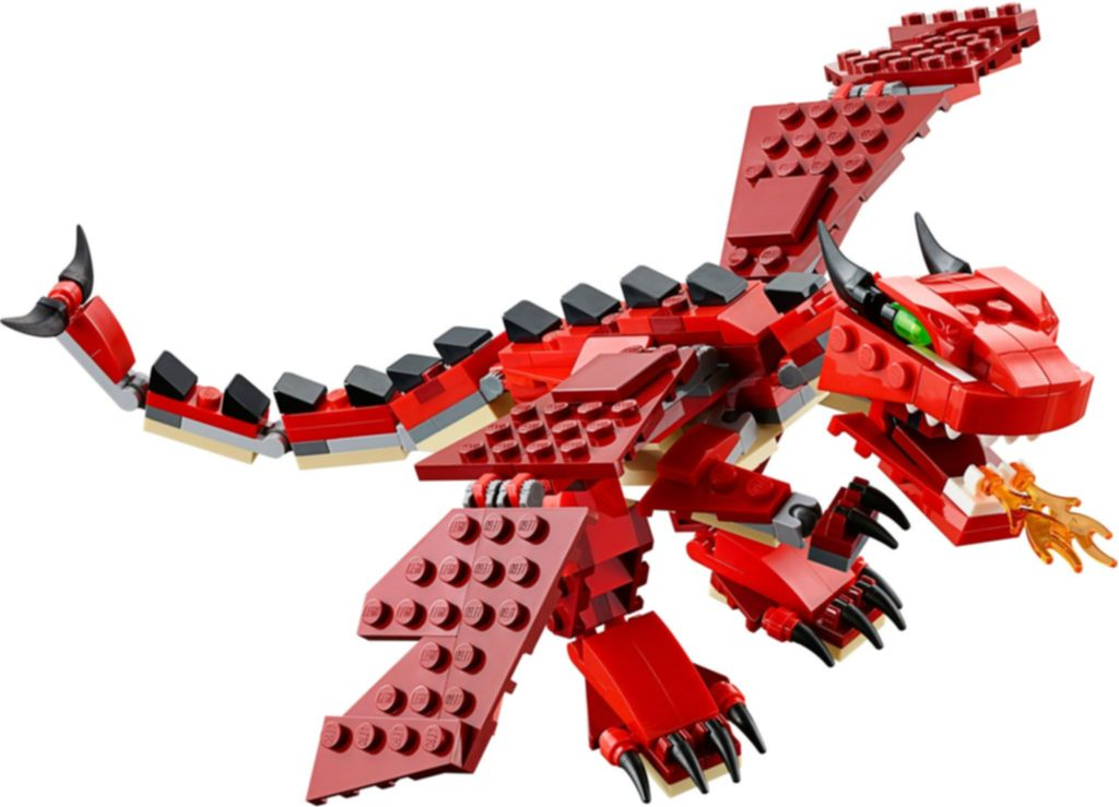 Red Creatures dragon
