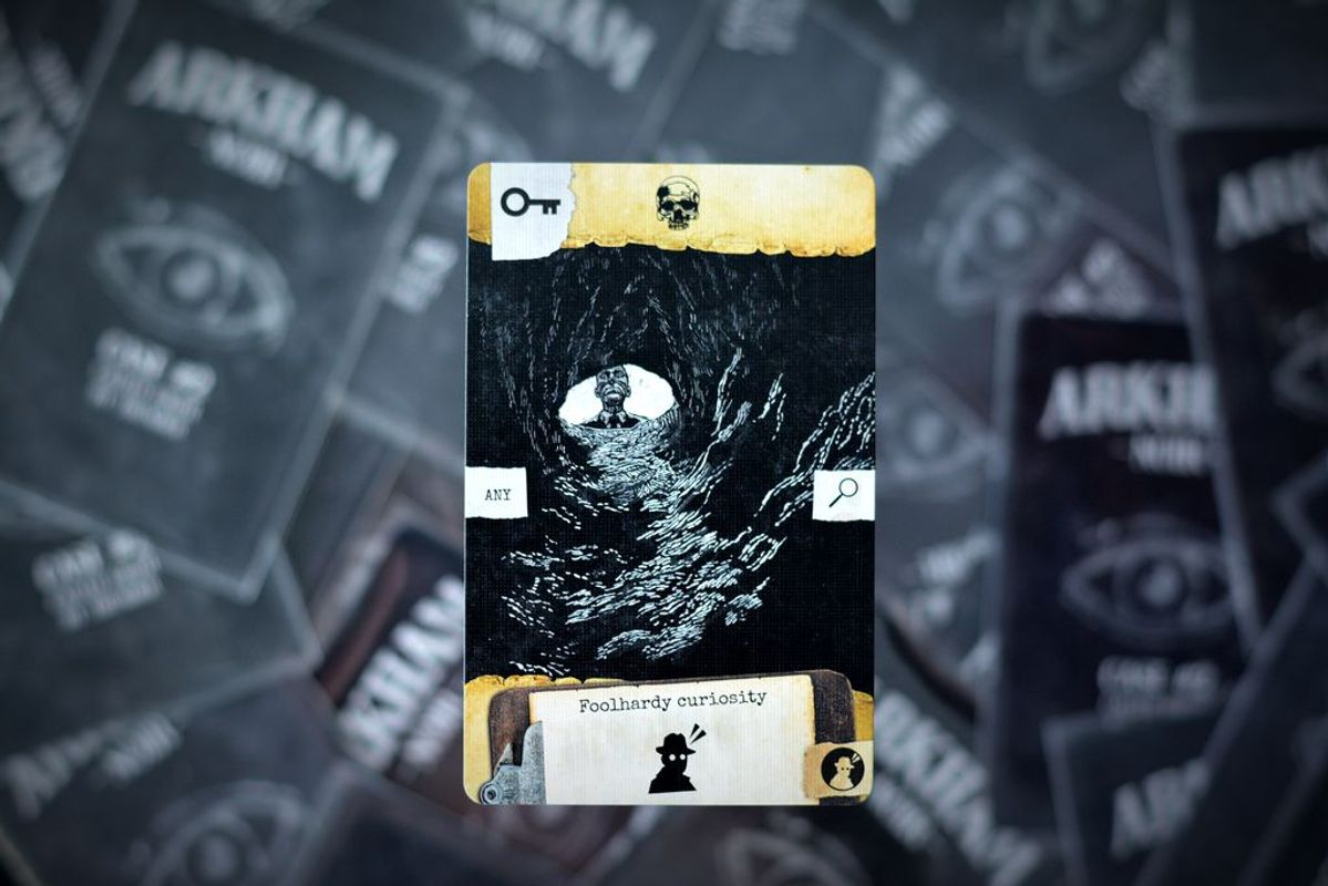 Arkham Noir: Case #2 – Called Forth By Thunder cards