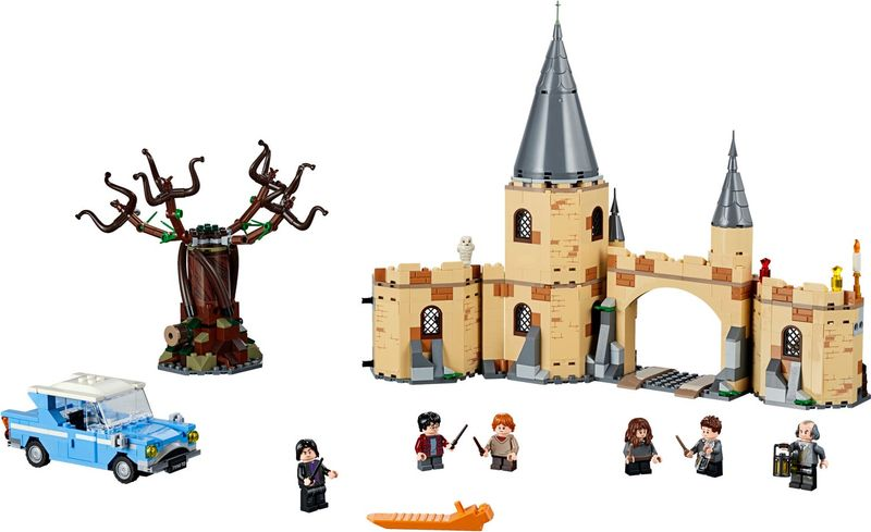 LEGO® Harry Potter Hogwarts™ Whomping Willow™ components
