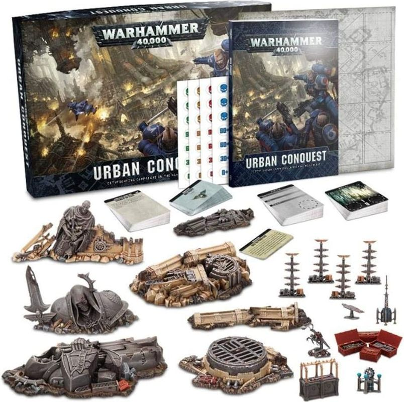 Warhammer 40,000: Urban Conquest components
