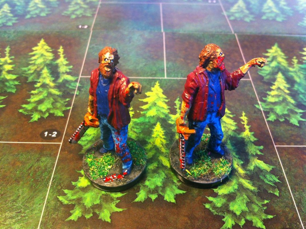 Last Night on Earth: Blood in the Forest miniature
