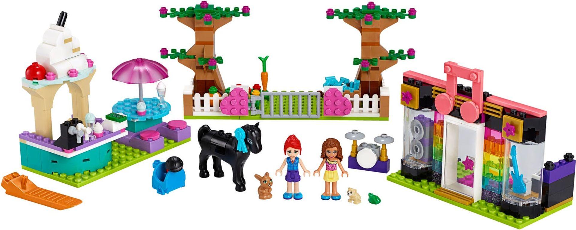 Heartlake City Brick Box components