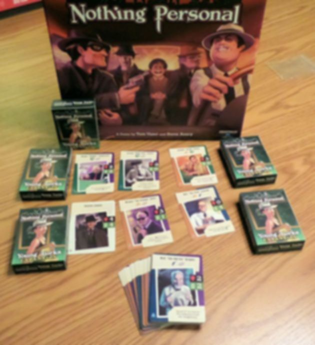 Nothing Personal: Young Turks Expansion components