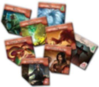 Eldritch Horror: Forsaken Lore cards