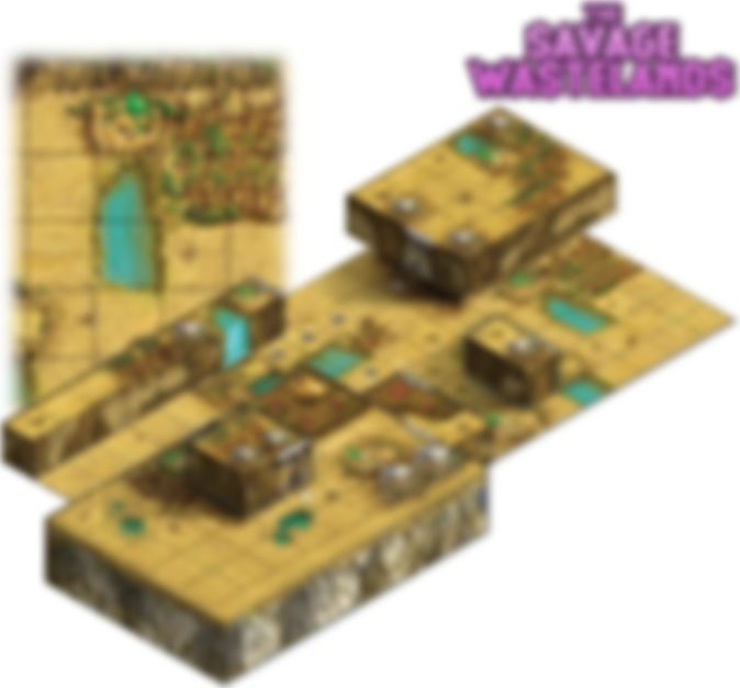 Tiny Epic Tactics: Maps Expansion componenti