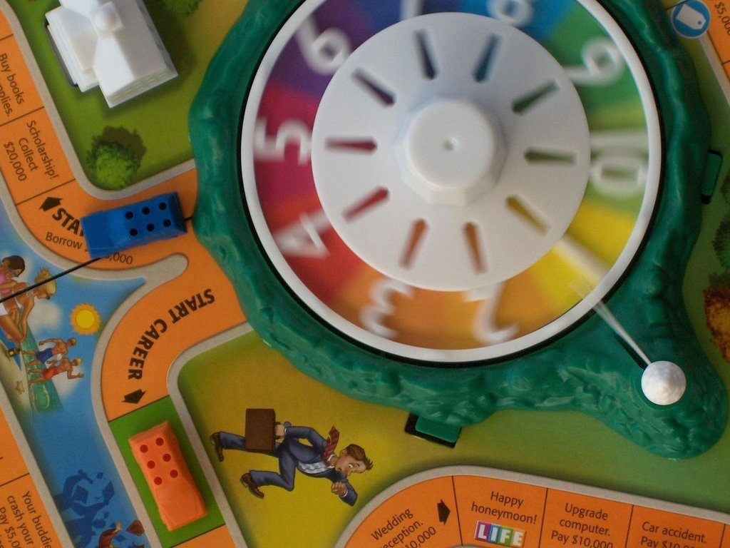The Game of Life game board