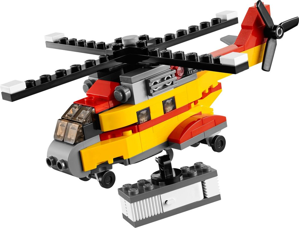Cargo Heli components