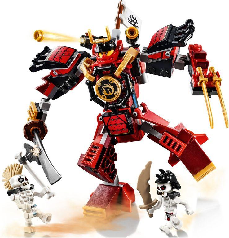 LEGO® Ninjago The Samurai Mech gameplay